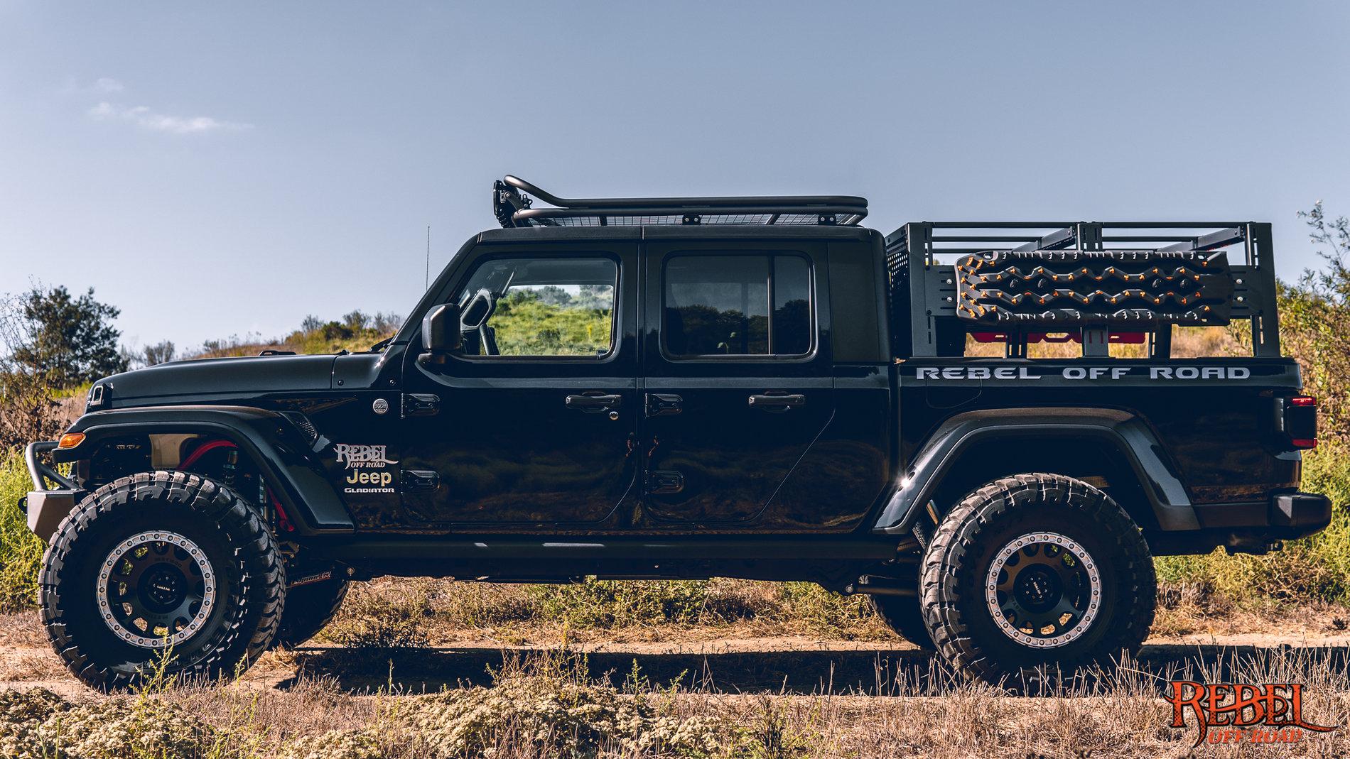 Jeep Wrangler Kayak Rack >> XPLOR Full & Half Jeep Gladiator Bed Racks - REBEL OFF ROAD